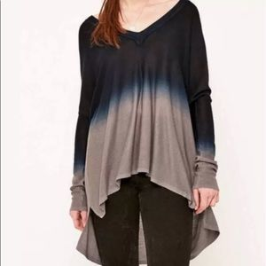 Pins and Needles Oversized Ombré Sweater